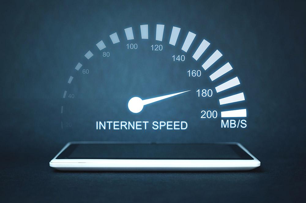 Oasis Broadband Internet Speeds Use